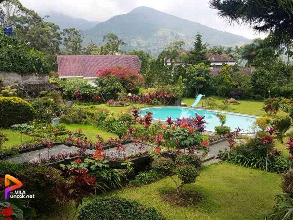 Villa UUM 6 Kamar Kolam Renang Pribadi View Bagus